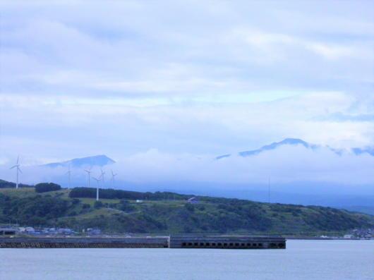 暑寒別岳の雲1(1)