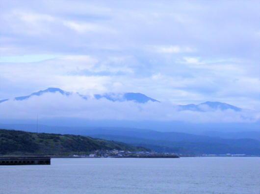 暑寒別岳の雲2(1)