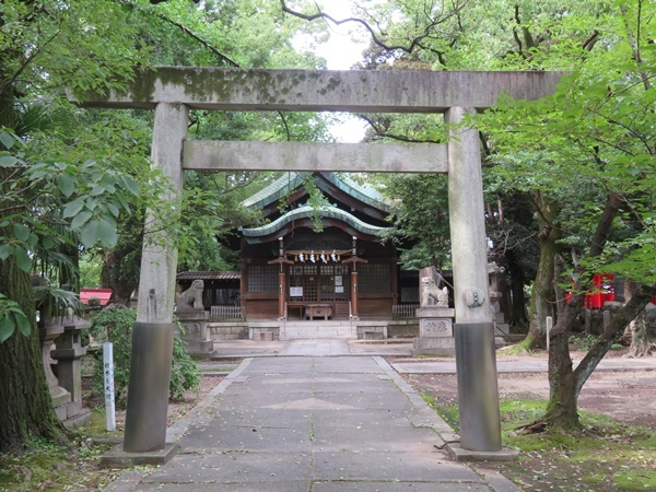 闇森神社2