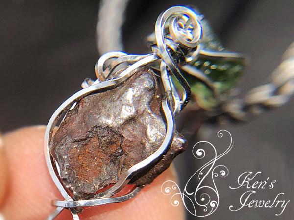 モルダバイト×シホテアリン隕石×モンドクォーツ
