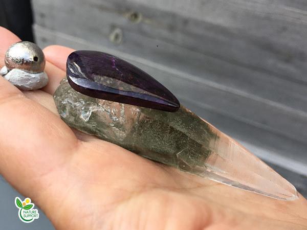 ガネーシュヒマール×スギライト×ギベオン隕石