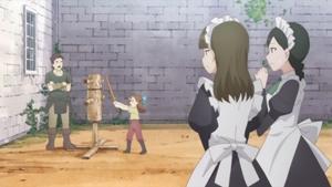 剣を習うカタリナ