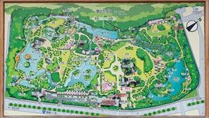 栗林公園全体図
