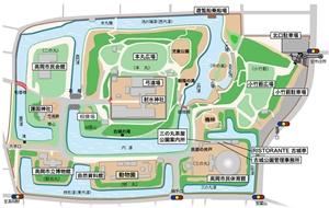 古城公園マップ