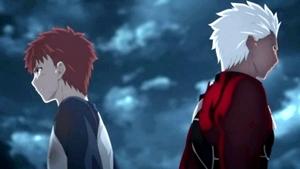 士郎とアーチャー