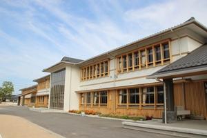 明倫小学校の新校舎