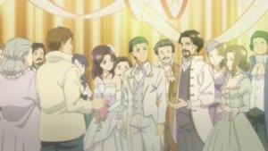 まさに結婚式