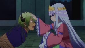 姫になでられる魔王
