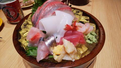 刺身(もりもり寿司)
