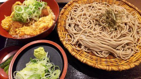 おらが蕎麦(ざる・かつ丼)