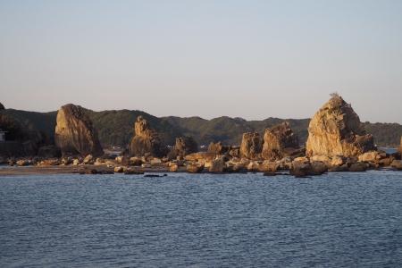 ぴーきち&ダイナ 紀伊半島ツーリング 和歌山県 串本町 橋杭岩