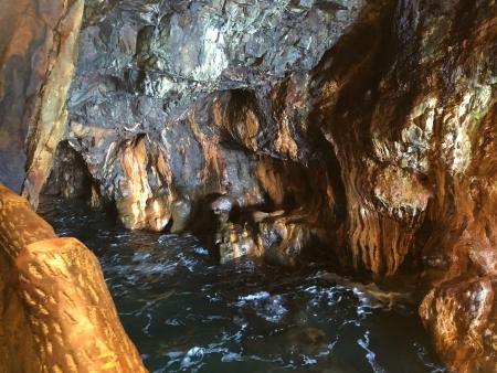 ぴーきち&ダイナ 和歌山南紀白浜ツーリング 三段壁洞窟 潮吹き岩