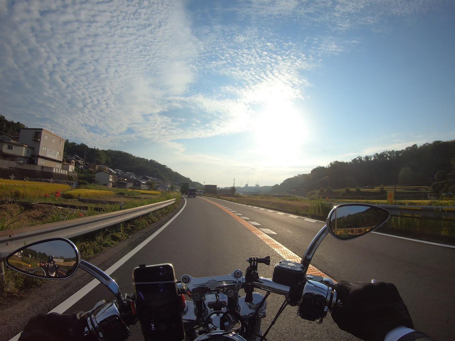 ぴーきちハーレーブログ 青山高原、月ケ瀬キャンプツーリング 国道163号線