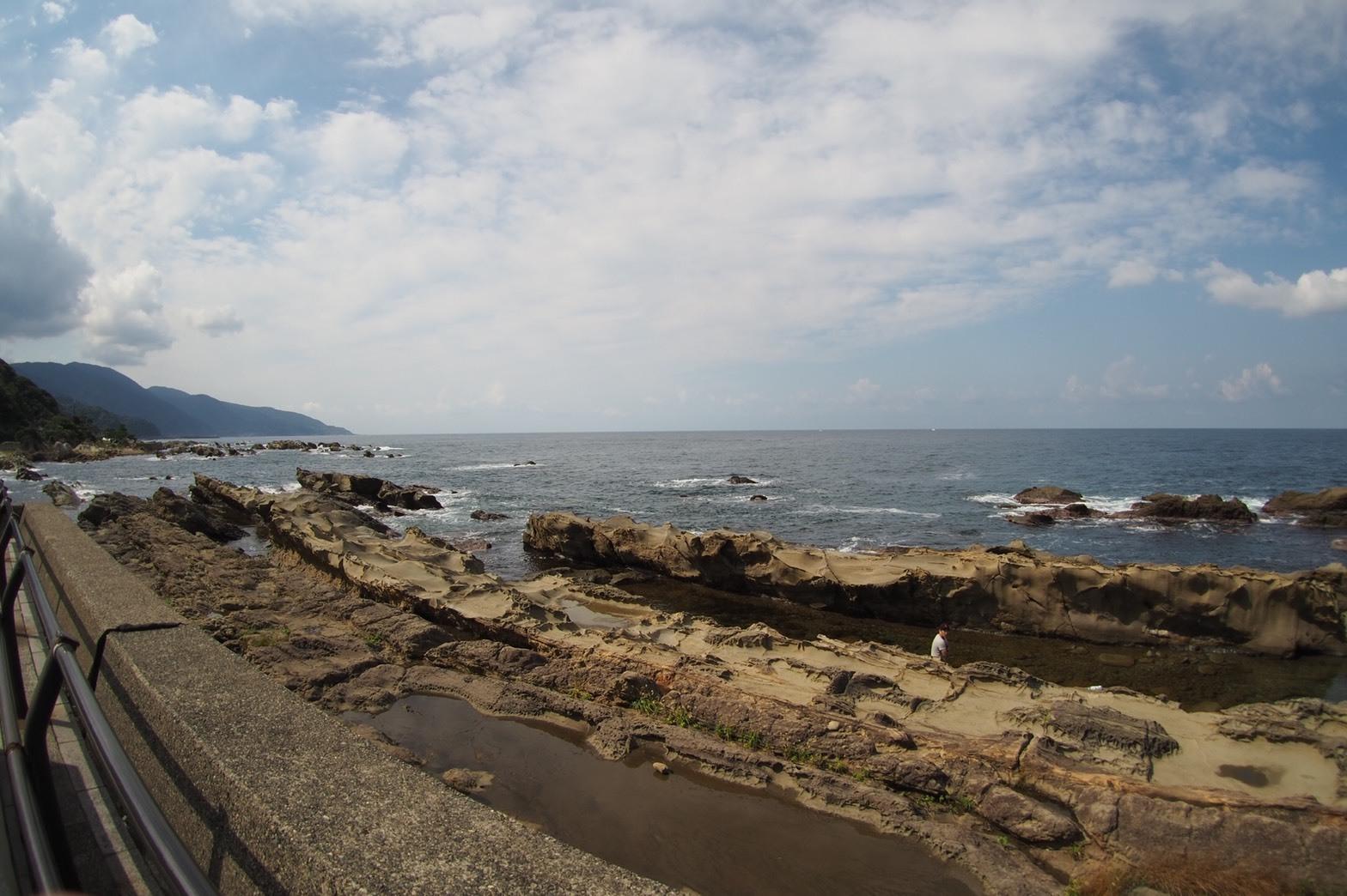 ぴーきちハーレーブログ 福井金沢ツーリング 弁慶の洗濯岩
