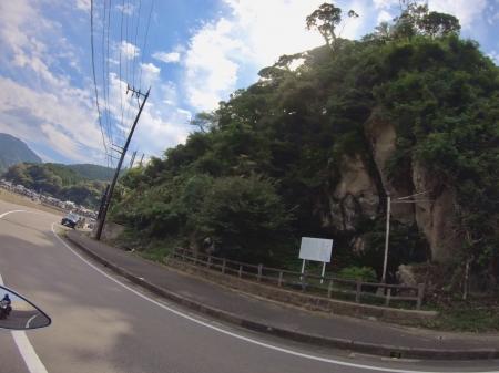 ぴーきちハーレーブログ 福井金沢ツーリング 神の足跡