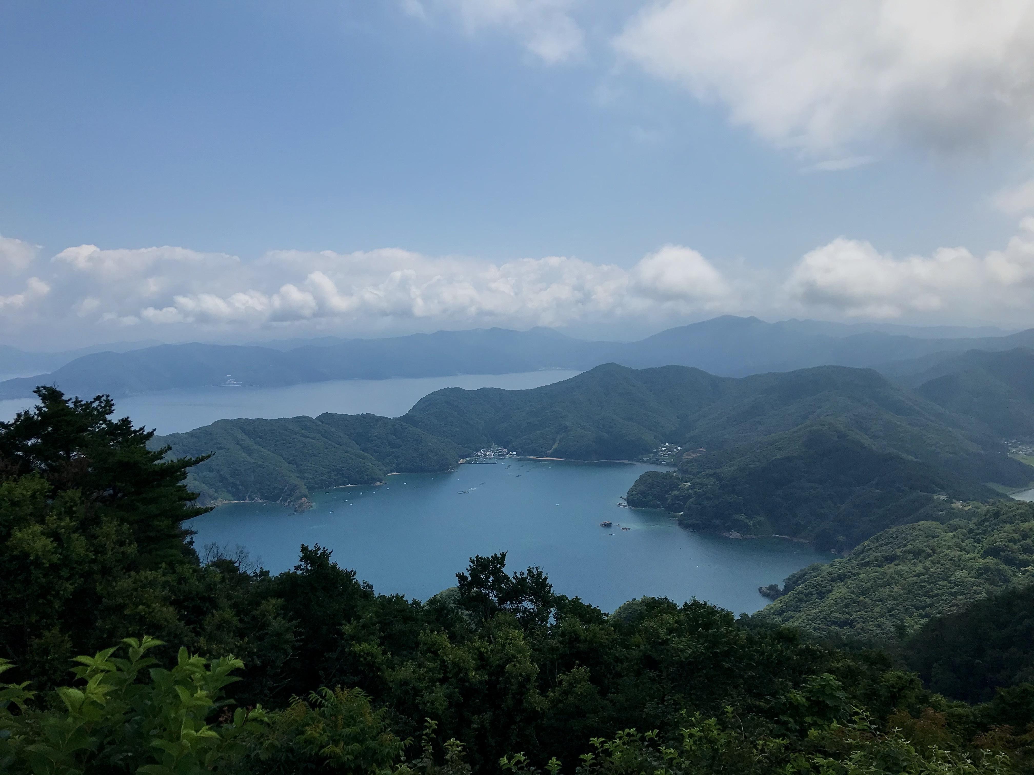ぴーきちハーレーブログ 福井三方五湖ツーリング  エンゼルライン 絶景