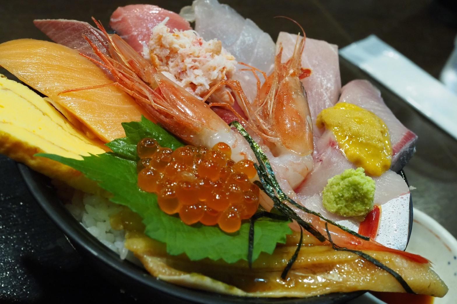 ぴーきちハーレーブログ 福井金沢ツーリング 近江町市場 海鮮丼