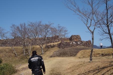 ぴーきち&ダイナ 紀伊半島ツーリング 三重県熊野市 赤木城跡 シマゴン