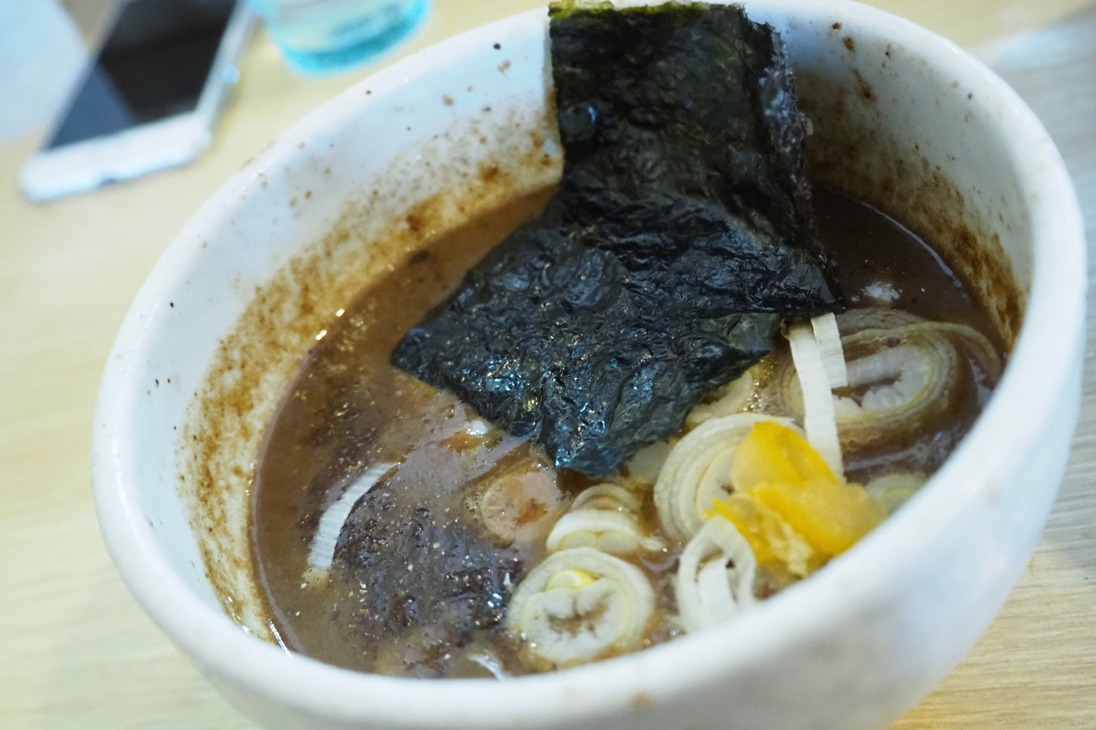ぴーきち&ダイナ ハーレーブログ 京都 ラーツー 麵屋たけ井 特製つけ麺