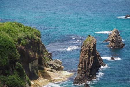 ぴーきち&ダイナ ハーレーブログ 京都丹後半島ツーリンング 屏風岩展望台 眺め