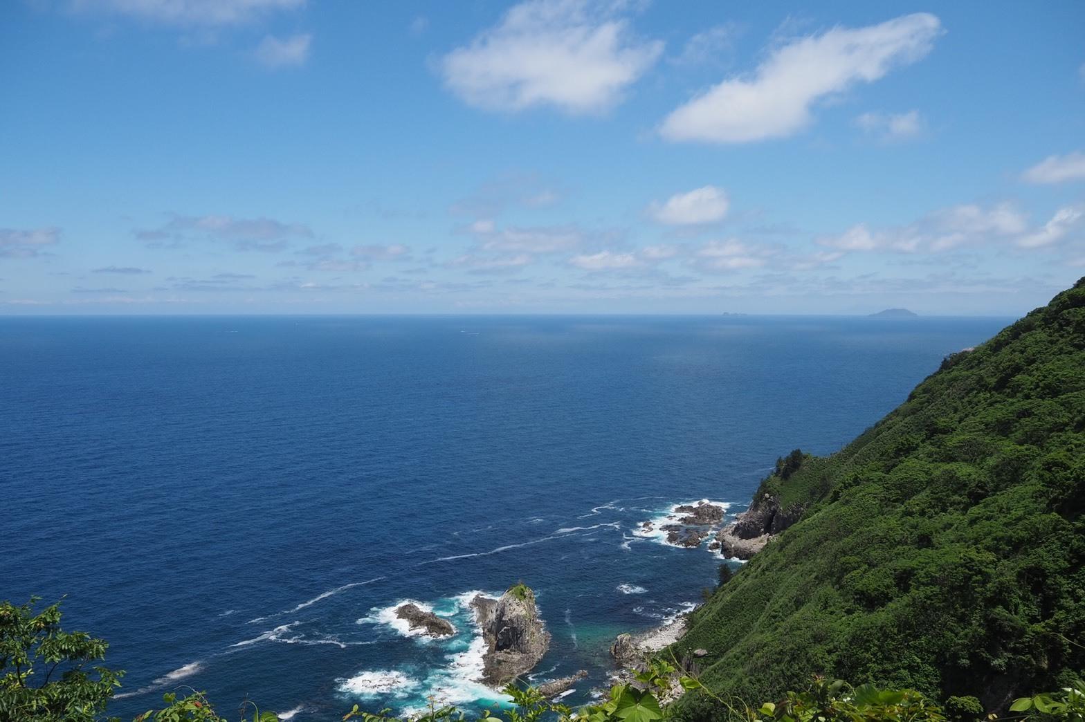 ぴーきち&ダイナ ハーレーブログ 京都丹後半島ツーリンング 経ヶ岬の絶景