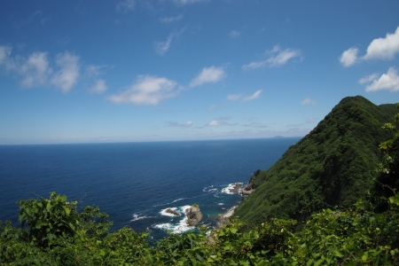 ぴーきち&ダイナ ハーレーブログ 京都丹後半島ツーリンング 経ヶ岬灯台からの景色