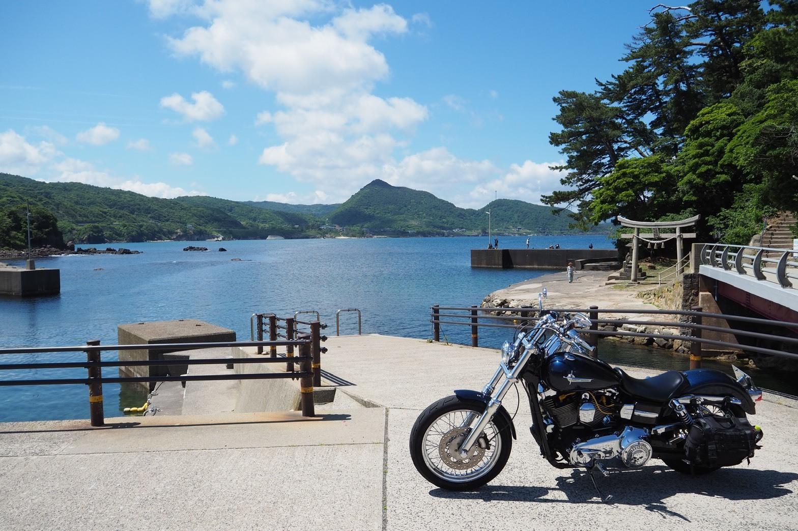 ぴーきち&ダイナ ハーレーブログ 京都丹後半島ツーリンング 城島公園