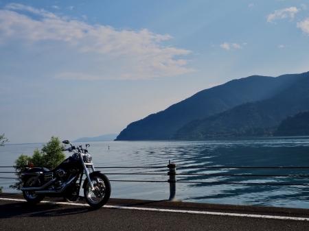 ぴーきちハーレーブログ ビワイチ ヨゴイチツーリング 奥琵琶湖