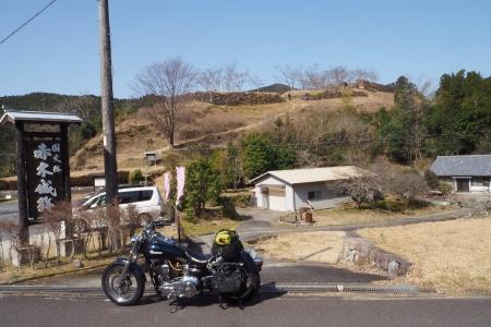 ぴーきち&ダイナ 紀伊半島ツーリング 三重県熊野市 赤木城跡