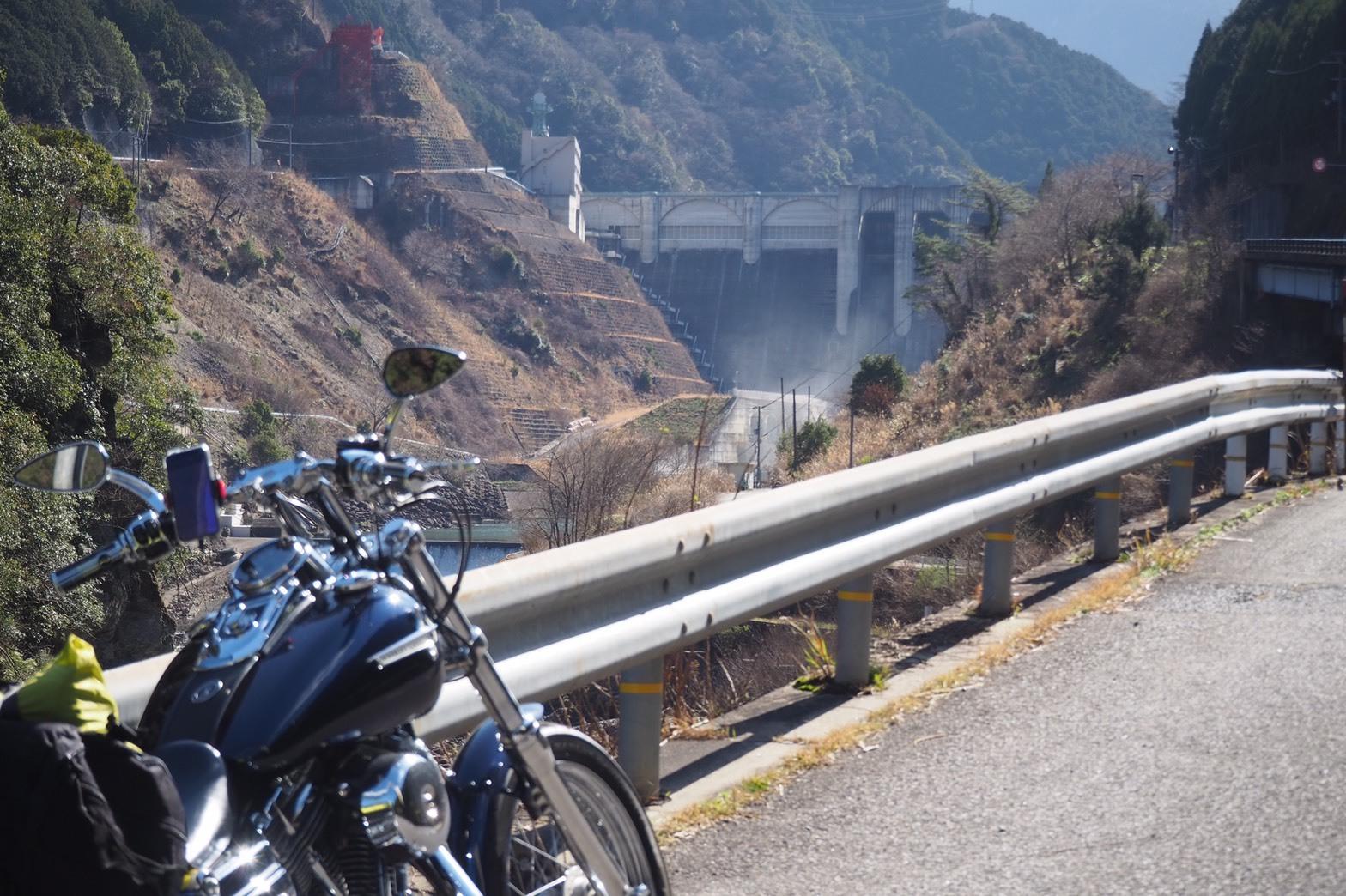 ぴーきち&ダイナ 紀伊半島ツーリング 169号線 大滝ダム