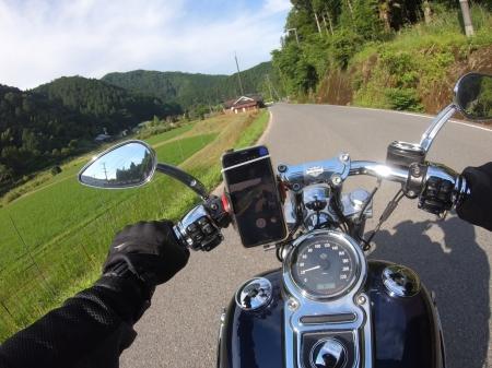 ぴーきち&ダイナ ハーレーブログ 和歌山有田ツーリング あらぎ島のルート 道順