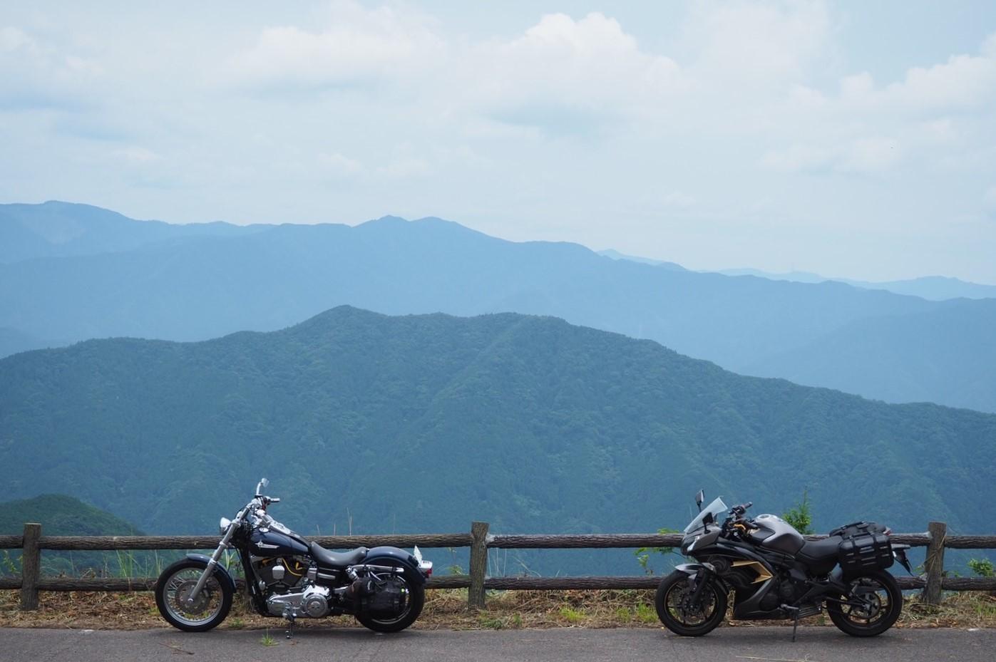 ぴーきち&ダイナ ハーレーブログ 和歌山有田ツーリング 生石高原 付近の景色