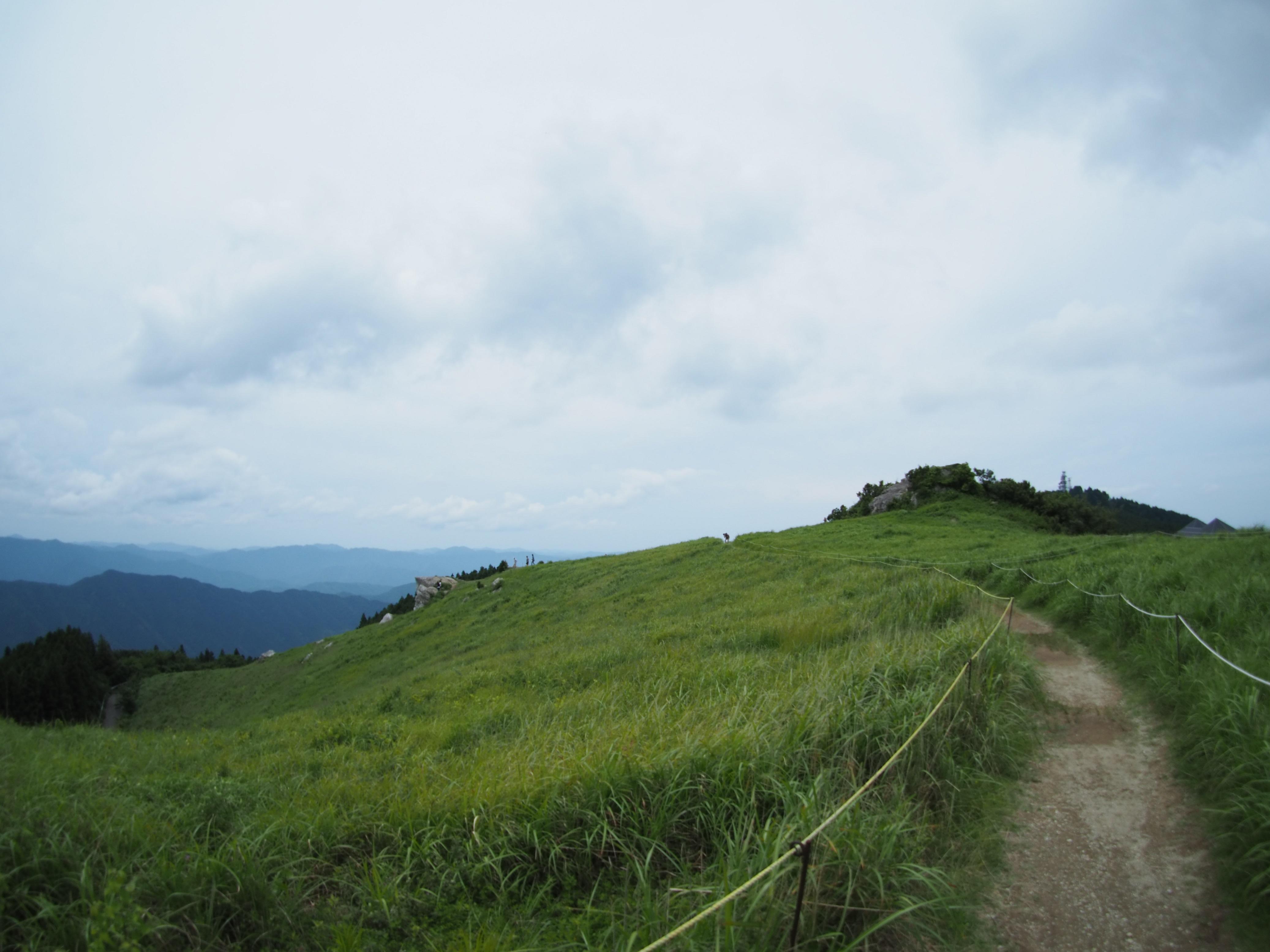 ぴーきち&ダイナ ハーレーブログ 和歌山有田ツーリング 生石高原の景色 絶景