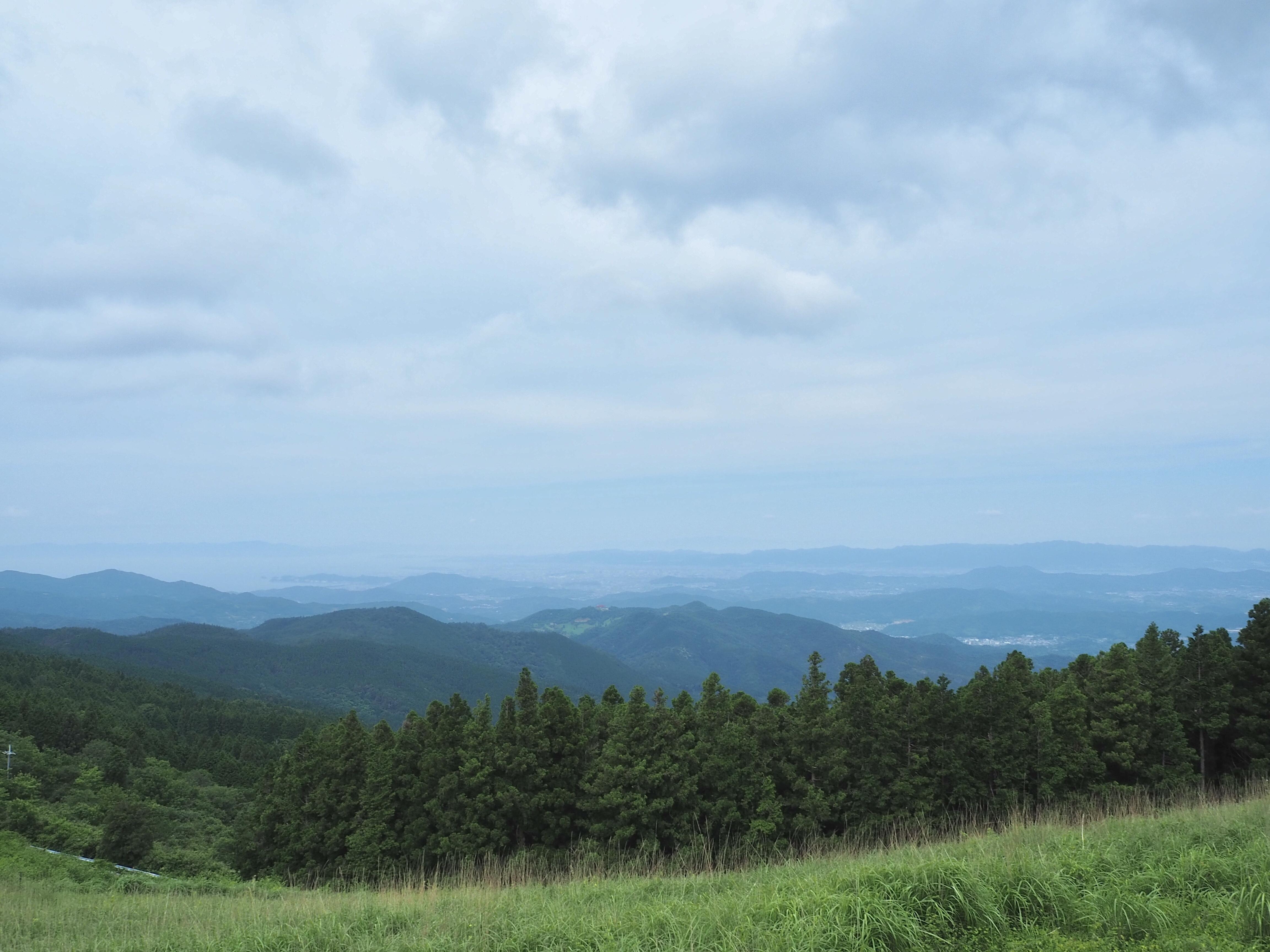 ぴーきち&ダイナ ハーレーブログ 和歌山有田ツーリング 生石高原の景色