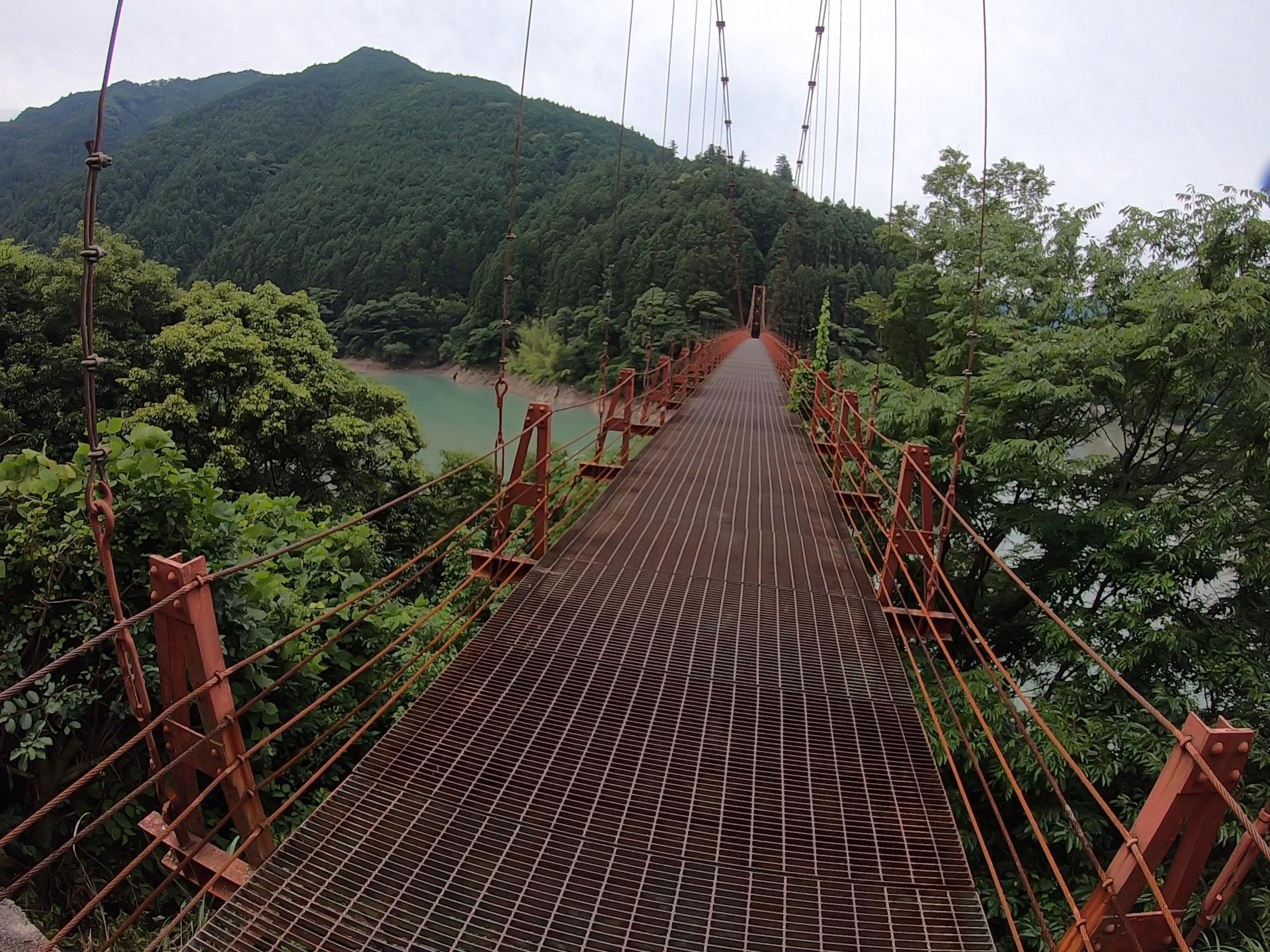 ぴーきち&ダイナ ハーレーブログ 和歌山有田ツーリング 蔵王橋