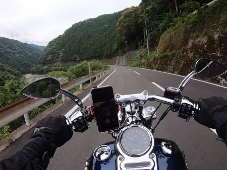 ぴーきち&ダイナ ハーレーブログ 和歌山有田ツーリング 蔵王橋 道順 道のり