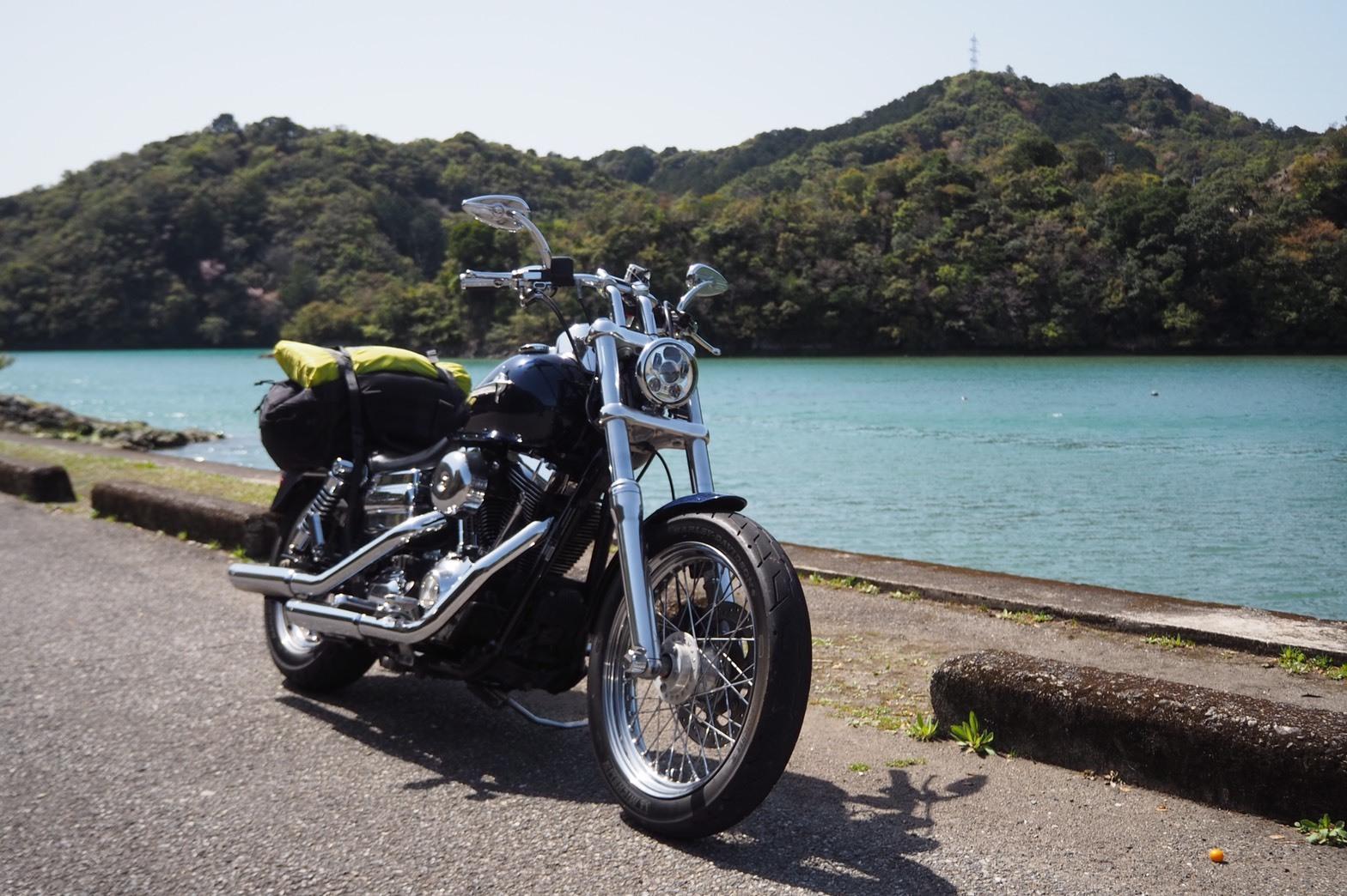 ぴーきち&ダイナ 紀伊半島ツーリング 和歌山県 入り江