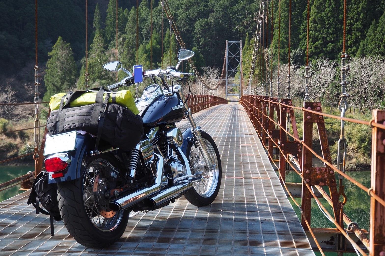 harleydavidson-motorcycle-touring-blog-wakayama-okutoro-campsite-suspensionbridge-2.jpg