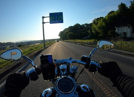 ぴーきち&ダイナ ハーレーブログ 和歌山有田ツーリング 国道163号線