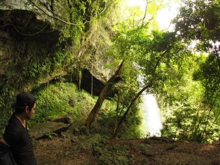 ぴーきち&ダイナ ハーレーブログ 和歌山有田ツーリング 次の滝 裏見の滝