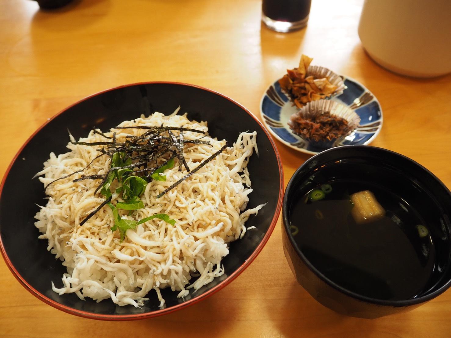 ぴーきち&ダイナ ハーレーブログ 和歌山有田ツーリング 海ひこ シラス丼 しらす丼