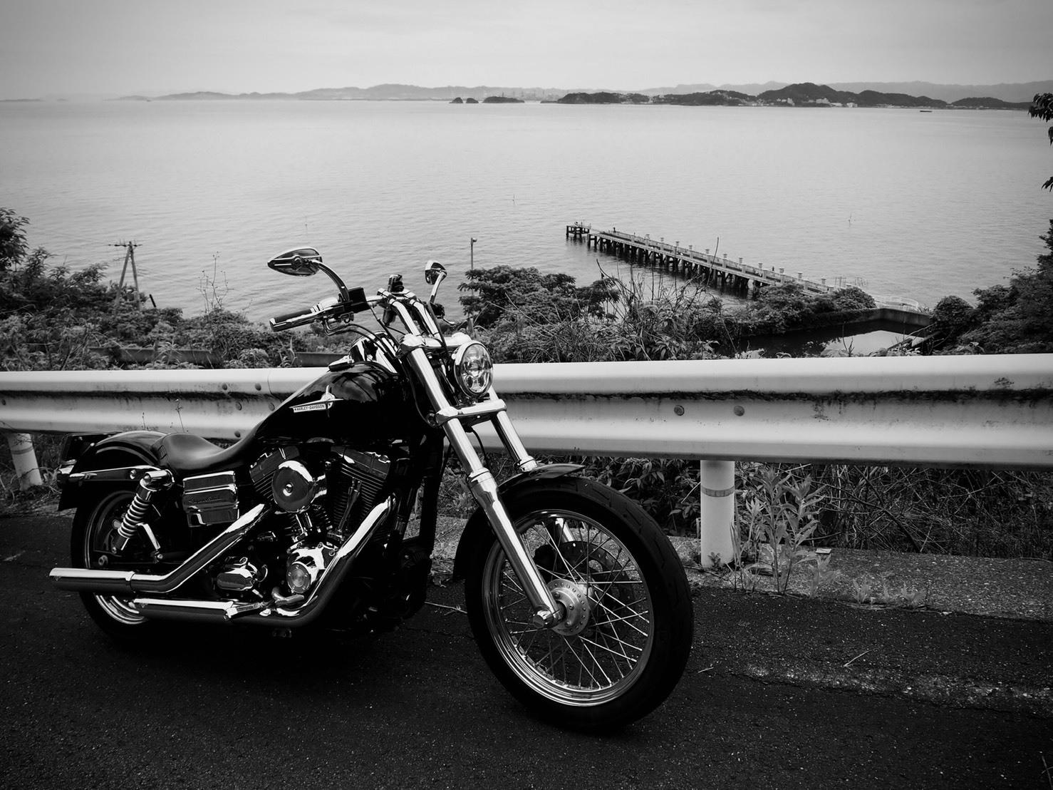 ぴーきち&ダイナ ハーレーブログ 和歌山有田ツーリング 海沿い 海岸線