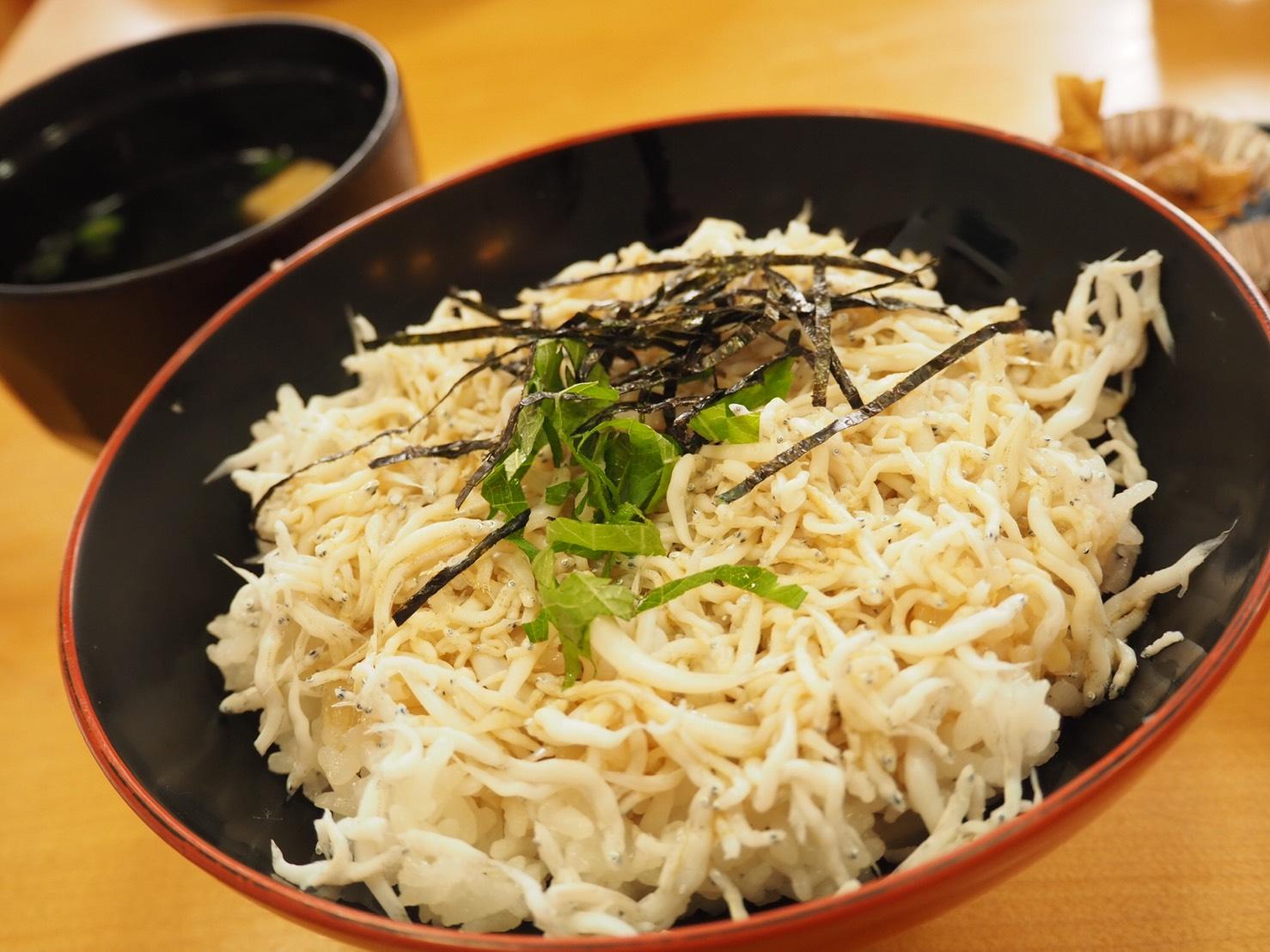 ぴーきち&ダイナ ハーレーブログ 和歌山有田ツーリング 湯浅 しらす丼