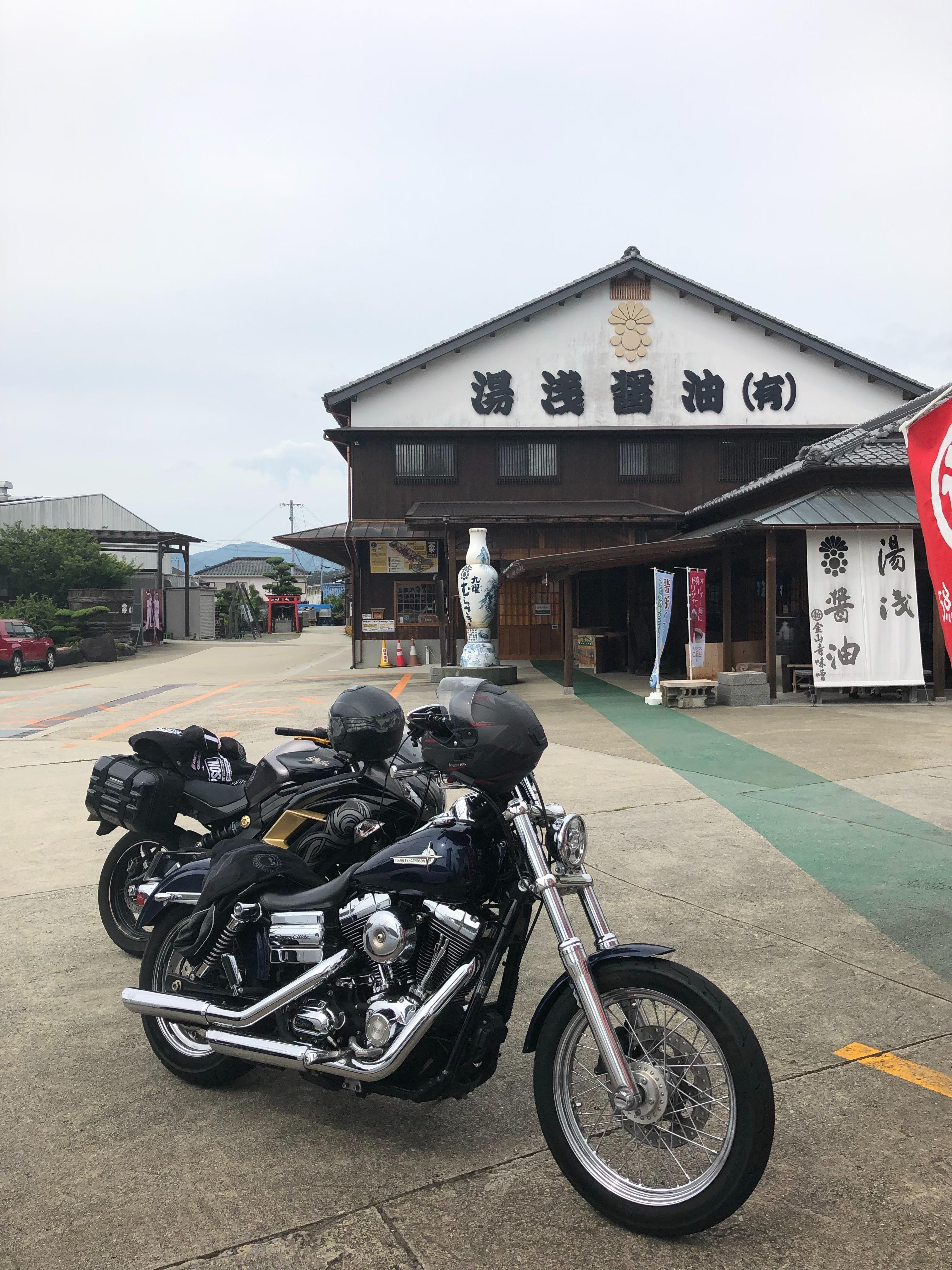 ぴーきち&ダイナ ハーレーブログ 和歌山有田ツーリング 湯浅醤油