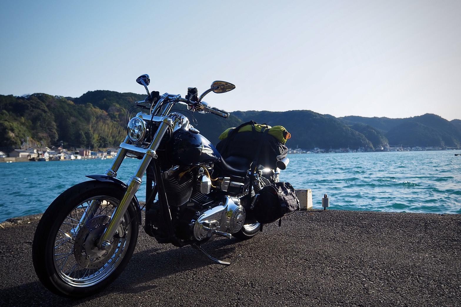 ぴーきち&ダイナ 紀伊半島ツーリング 和歌山県 海沿い
