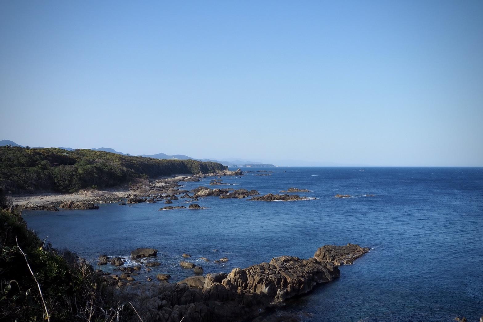 ぴーきち&ダイナ 紀伊半島ツーリング 和歌山県 太地町 梶取崎の景色