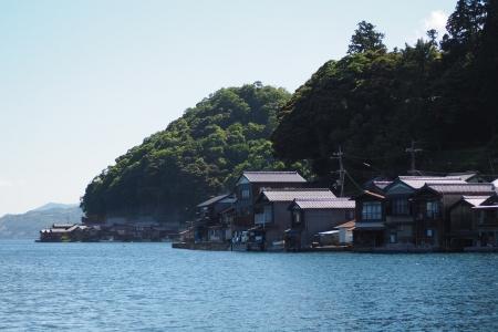 ぴーきち&ダイナ ハーレーブログ 京都丹後半島ツーリンング 伊根の舟屋 景色