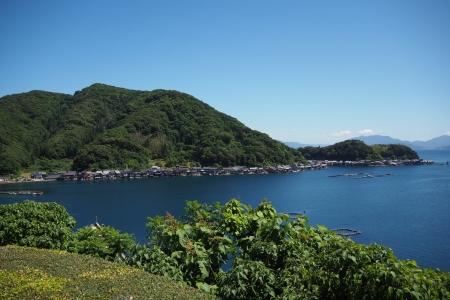 ぴーきち&ダイナ ハーレーブログ 京都丹後半島ツーリンング 道の駅舟屋の里伊根からの景色
