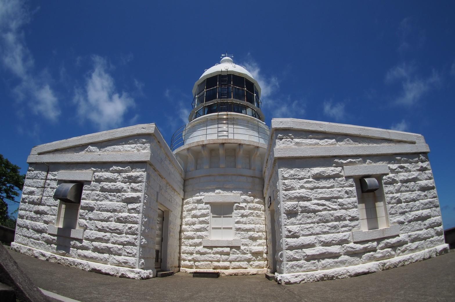 ぴーきち&ダイナ ハーレーブログ 京都丹後半島ツーリンング 経ヶ岬灯台 全景