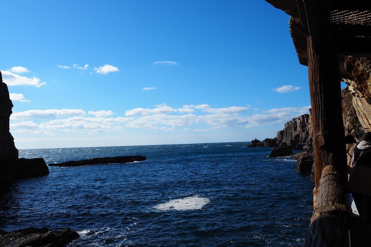 ぴーきち&ダイナ 和歌山南紀白浜ツーリング 三段壁 景色